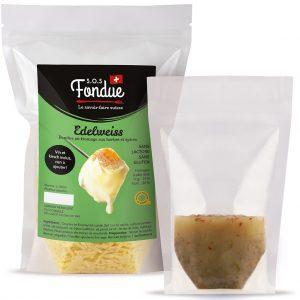 Fondue au fromage SOS Fondue - Edelweiss - Liquide inclus