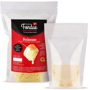 Fondue au fromage SOS Fondue - Suissesse - Liquide inclus