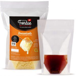 Fondue au fromage SOS Fondue - Brassicole - Liquide inclus