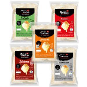 Sos fondue | Half-pouch cheese fondues (300g)