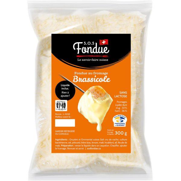 Fondue au fromage - Brassicole (300g)
