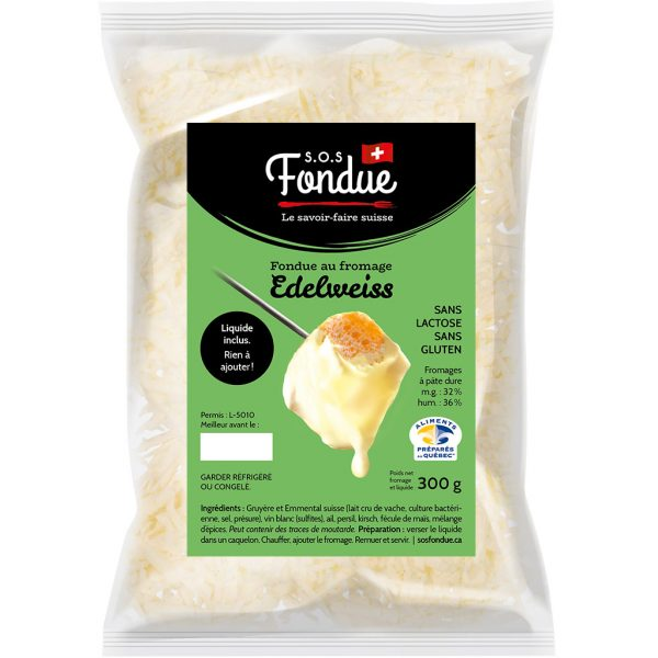 Fondue au fromage - Edelweiss (300g)