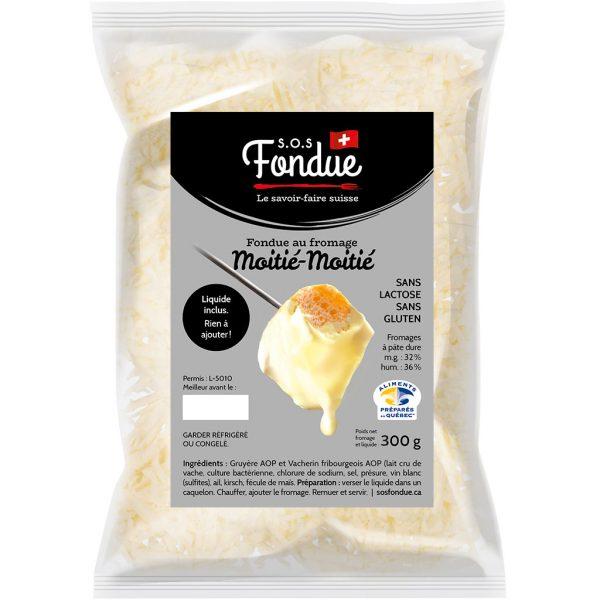 Fondue au fromage - Moitié-Moitié (300g)