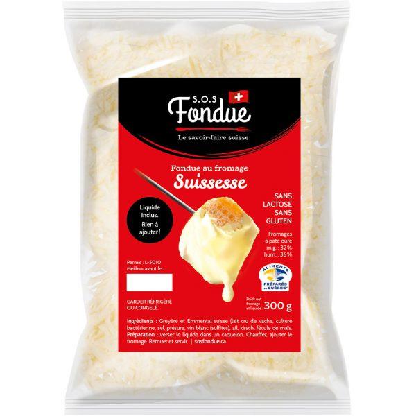 Fondue au fromage - Suissesse (300g)