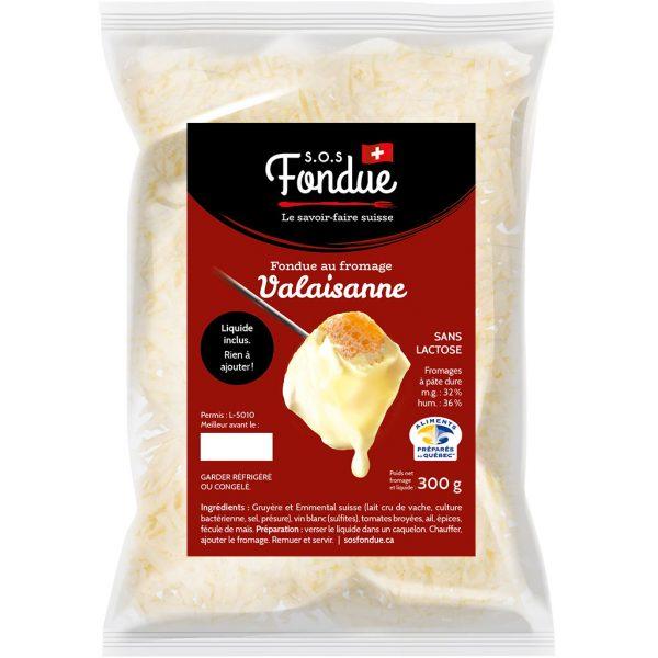 Fondue au fromage - Valaisanne (300g)