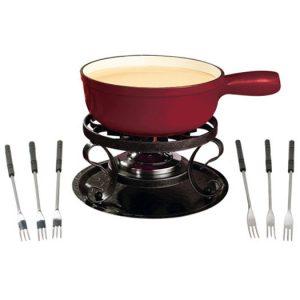 Sos fondue | Shop | Deluxe Lugano fondue set